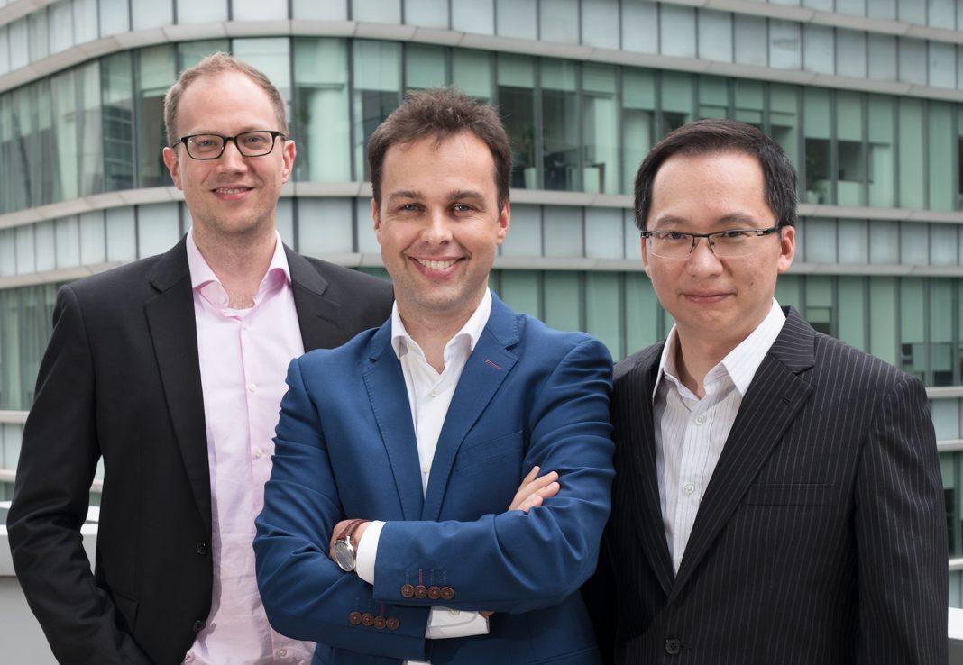 Michele Ferrario, Freddy Lim and Nino Ulsamer
