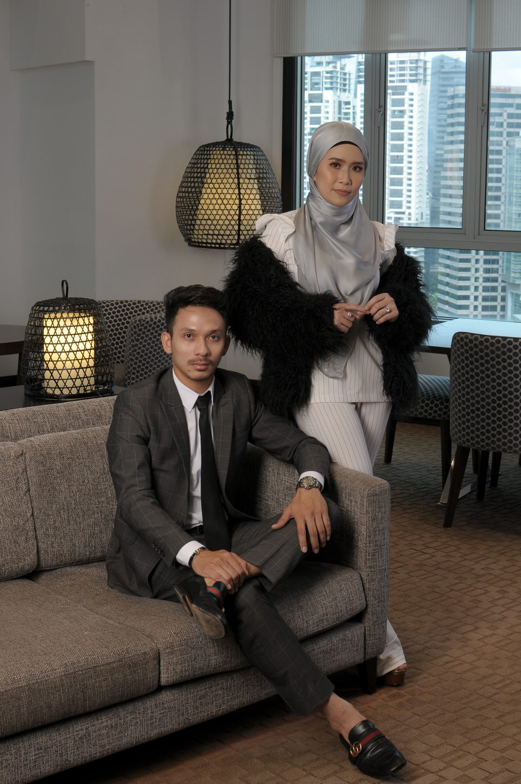 Shah Hafiz,DYXY Cosmetics, run as a partnership with wife, Dyana Roslan.
