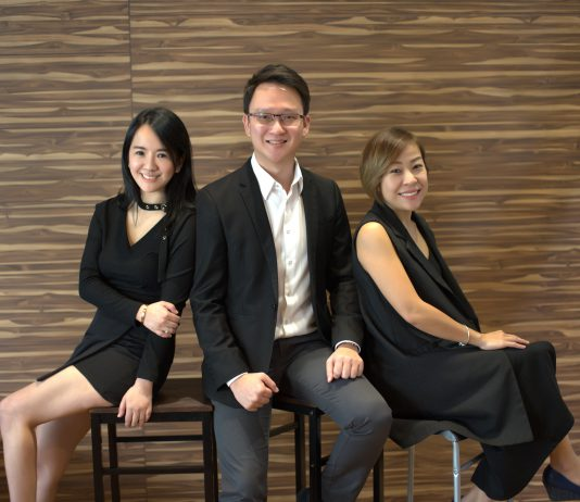 The directors of Armadale Photography, Joanne Lew, Liew Szet Foong, and Jasmine Hue
